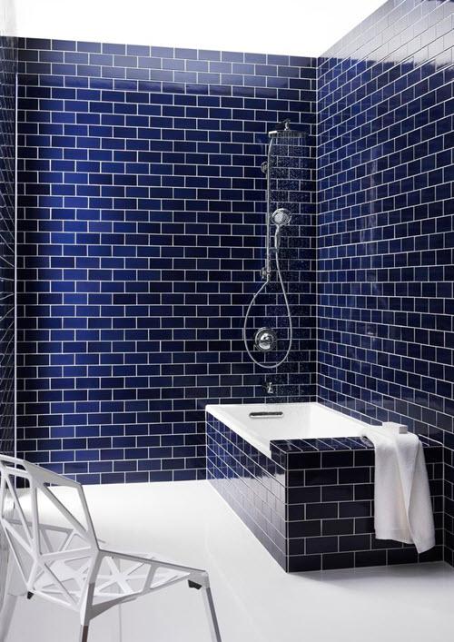 35 cobalt blue bathroom tile ideas and pictures 2019