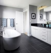 40 dark gray bathroom tile ideas and pictures