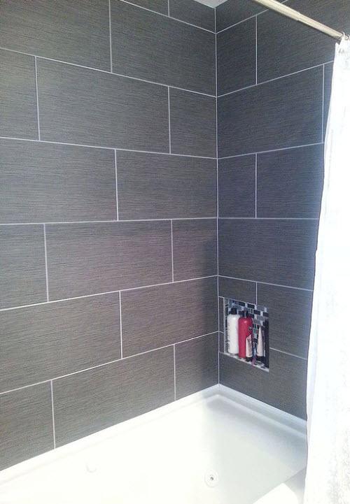 Bathroom Tiles Ideas Grey With Original Trend