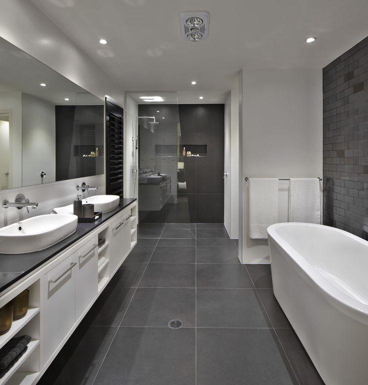 39 dark grey bathroom floor tiles ideas and pictures
