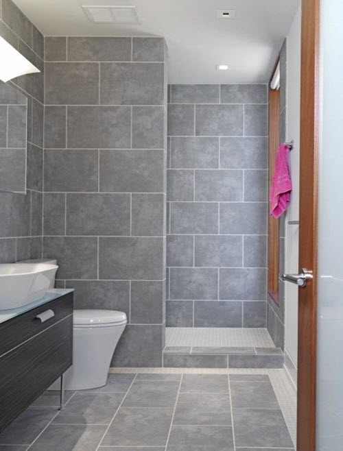 40 gray slate bathroom tile ideas and pictures