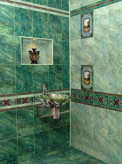 30 green marble bathroom tiles ideas and pictures 2019