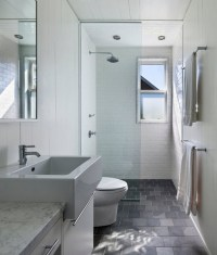 The gallery for --> Grey Slate Tile Bathroom