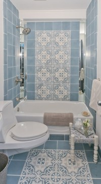 35 large blue bathroom tiles ideas and pictures 2019
