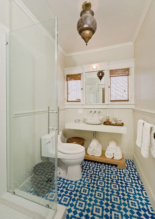 37 light blue bathroom floor tiles ideas and pictures