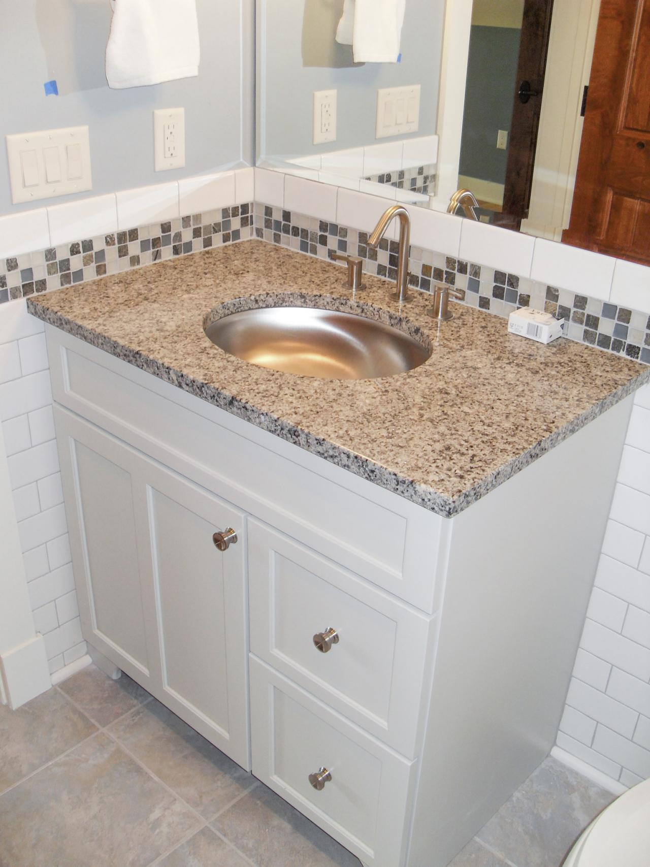 title | Glass Tile Backsplash Ideas Bathroom