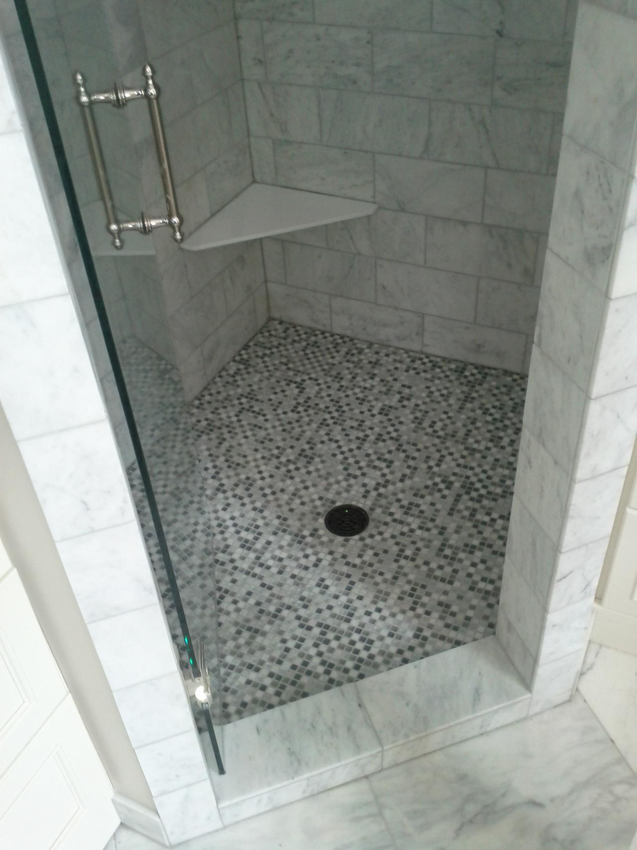 30 great pictures of marble shower tile