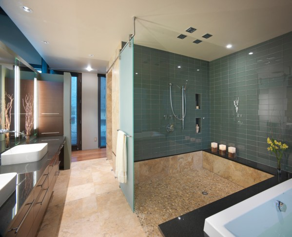 modern bathroom shower design ideas 30 great bathroom glass tile photos and pictures