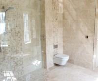 30 great ideas for marble bathroom floor tiles