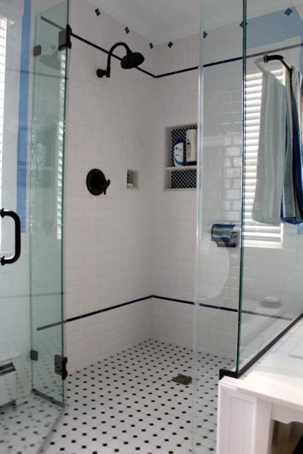 White Bathroom Shower Tile Ideas