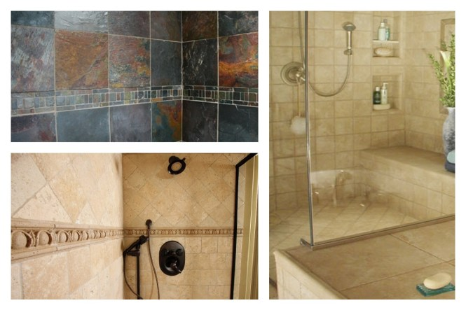 Bathroom Tile Ideas Natural Stone Amazing Decoration 4
