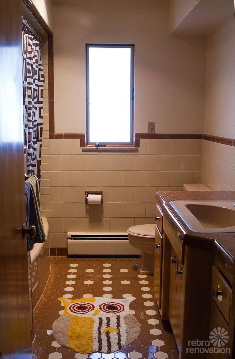 45 magnificent pictures of retro bathroom tile design