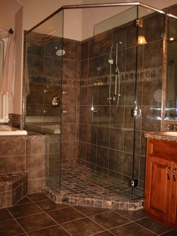 Custom Bathroom Shower Tile