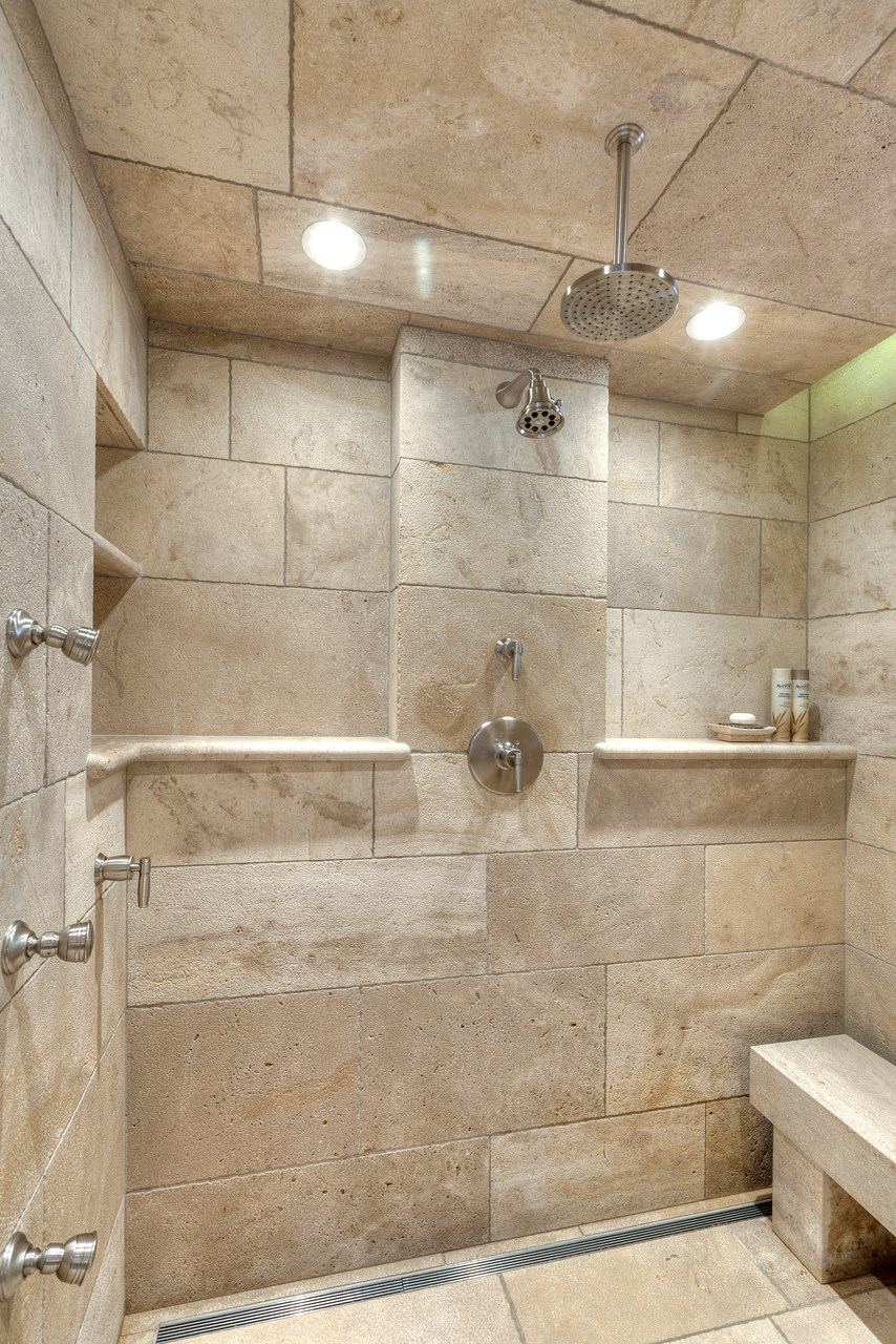 33 stunning pictures and ideas of natural stone bathroom