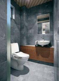 30 bathroom slate tile ideas