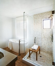 Cool And Ideas Pebble Shower Floor Tile