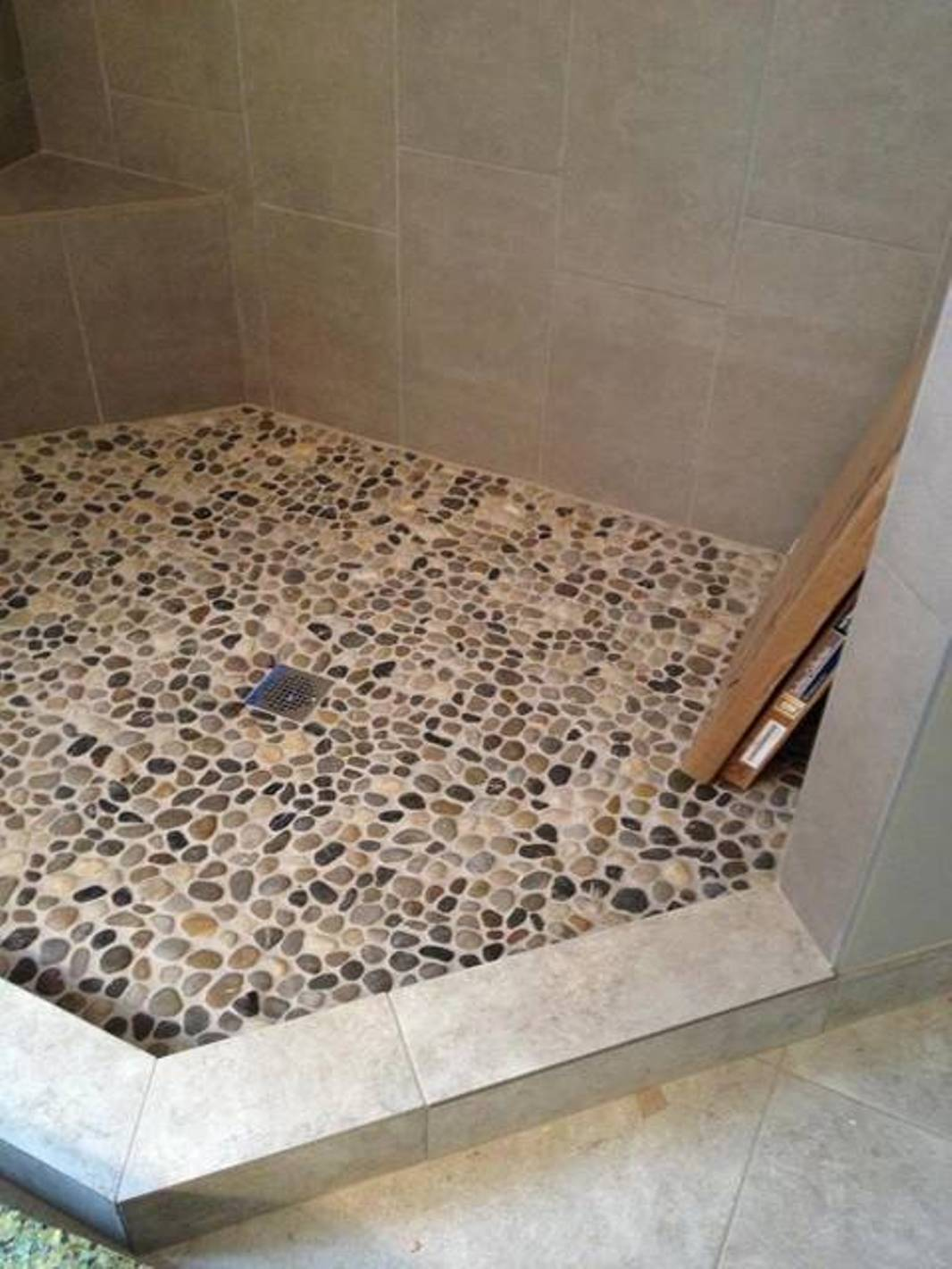 26 nice pictures and ideas of pebble bath tiles 2019