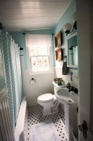 30 Pictures of small hexagon bathroom tile designs