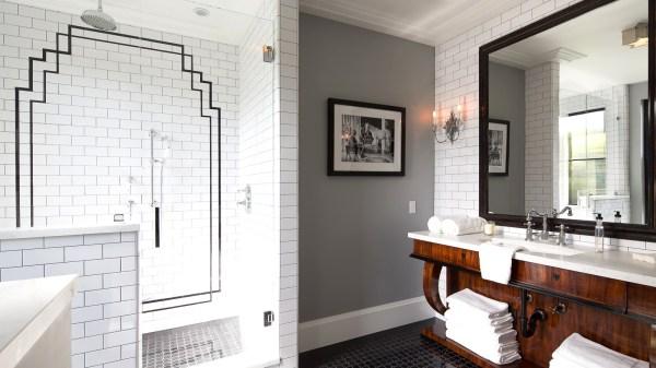 Art Deco Bathroom Floor Tiles