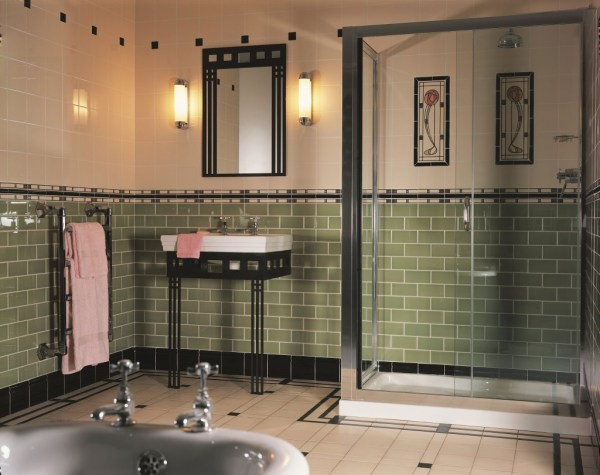 Art Deco Bathroom Tile Ideas