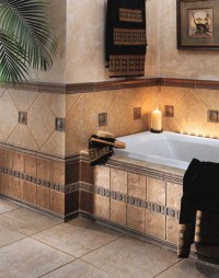 30 cool ideas and pictures of farmhouse bathroom tile