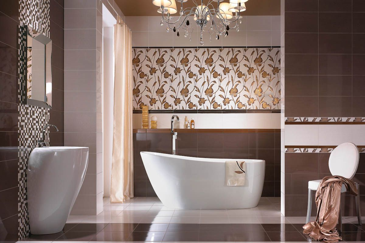 30 cool pictures and ideas of digital wall tiles for bathroom