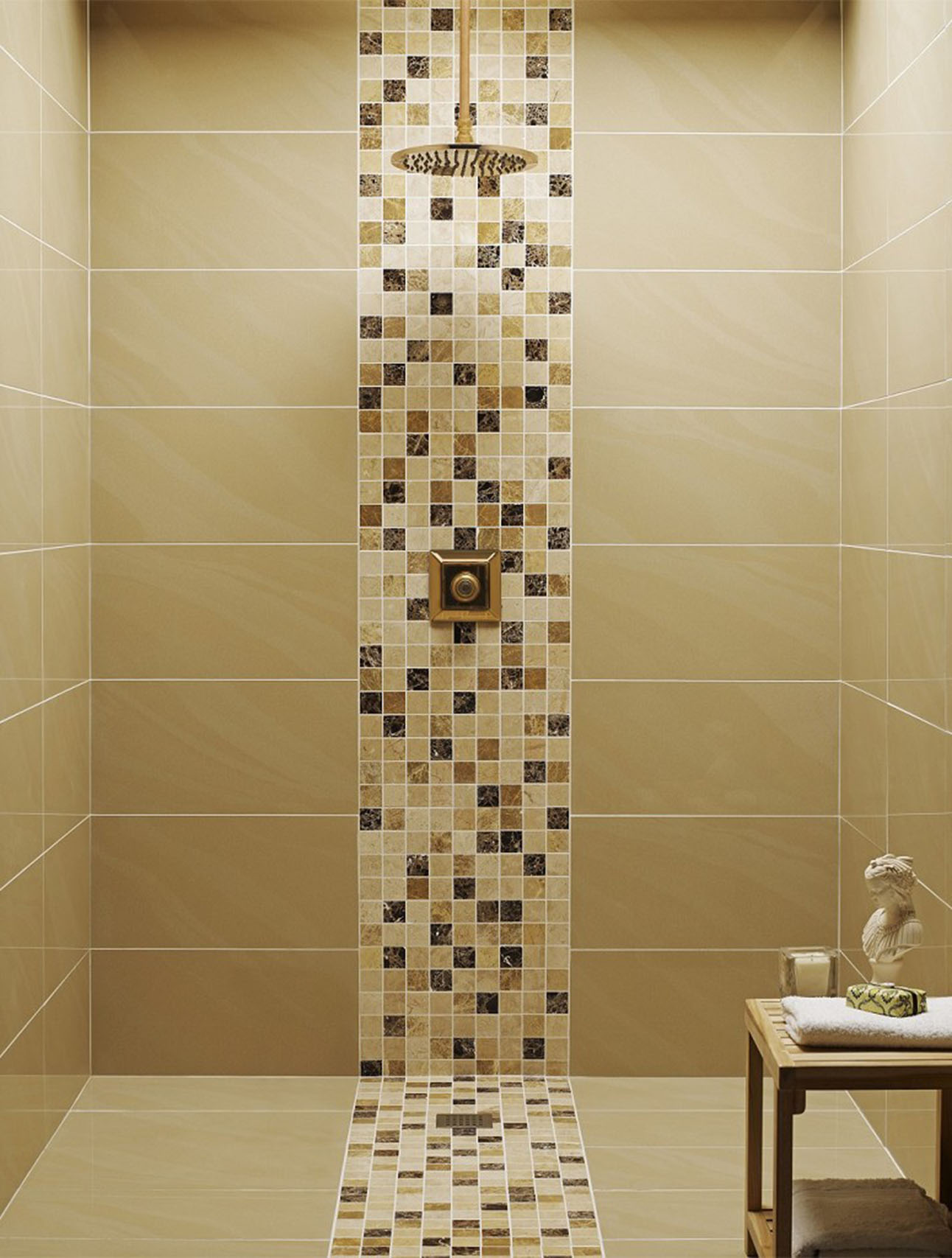 Best Kitchen Gallery: 30 Shower Tile Ideas On A Budget of Bathroom Tile Designs For Showers  on rachelxblog.com