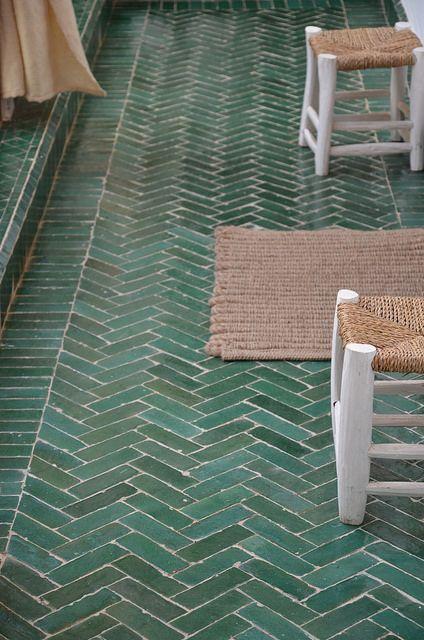 Herringbone Splashback Tiles  Rescue Remedy For Small Spaces