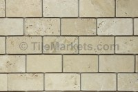 Travertine Subway Tile 4.85 $/Sh | TileMarkets
