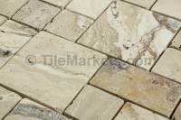 Travertine Roman Pattern Picasso Tumbled | TileMarkets