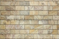 Travertine Scabos 2x4 Tumbled | TileMarkets