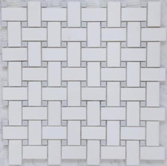 basket weave mosaic tiles the tile mob