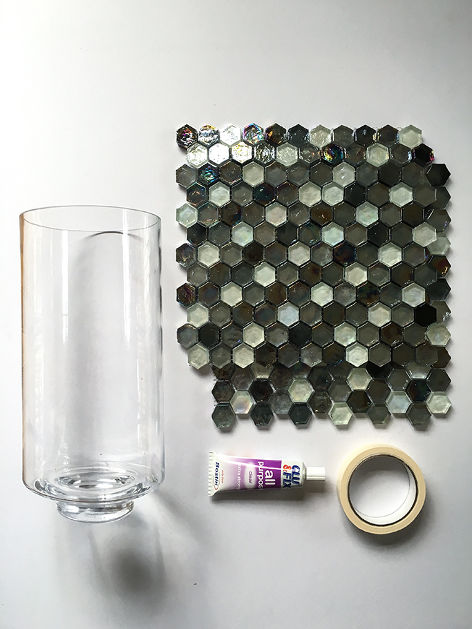Glass Mosaic Vase 1