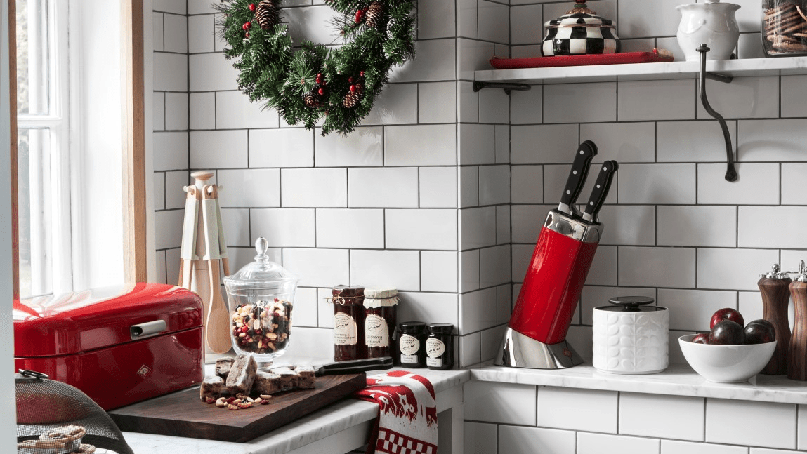 How To Decorate Your Kitchen For Christmas Tile Mountain