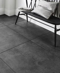 Dunsen Anthracite Non-Slip Floor Tiles