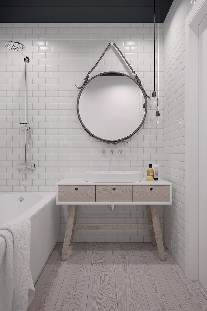 The Perfect Tiles For A Scandinavian Style Bathroom Tile