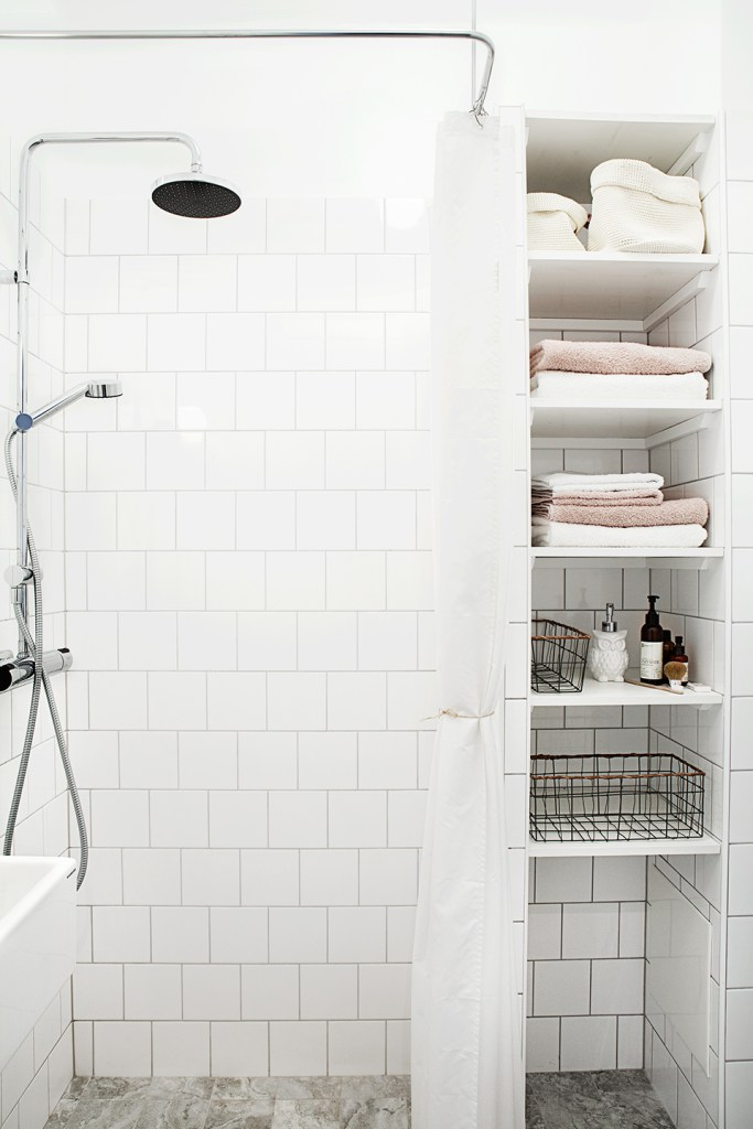The Perfect Tiles For A Scandinavian Style Bathroom Tile Mountain - White square tile bathroom