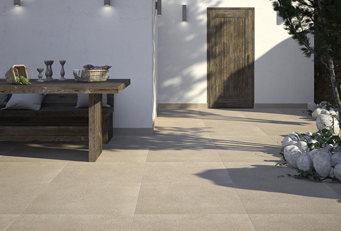 Dunsen Ivory Floor Tile from Tile Mountain