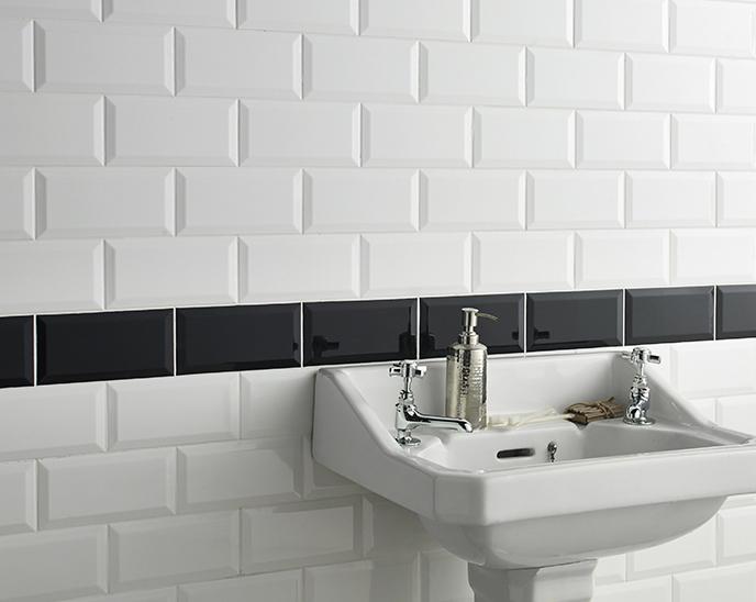 Metro White Wall Tile