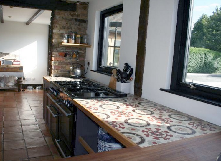 Tiled Kitchen Worktops: Pros & Cons - Tile Mountain