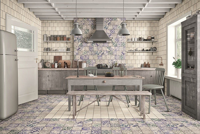Sintra Patterned Porcelain Wall and Floor Tiles