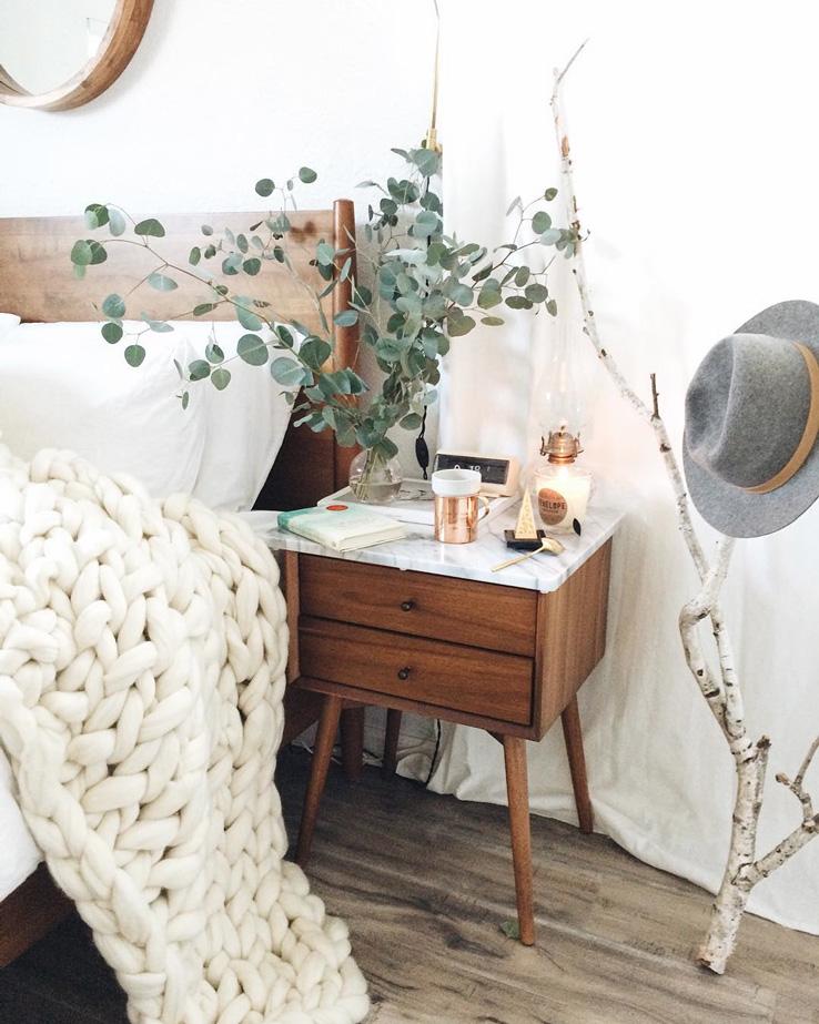 Winter Bedroom by Coco Tran