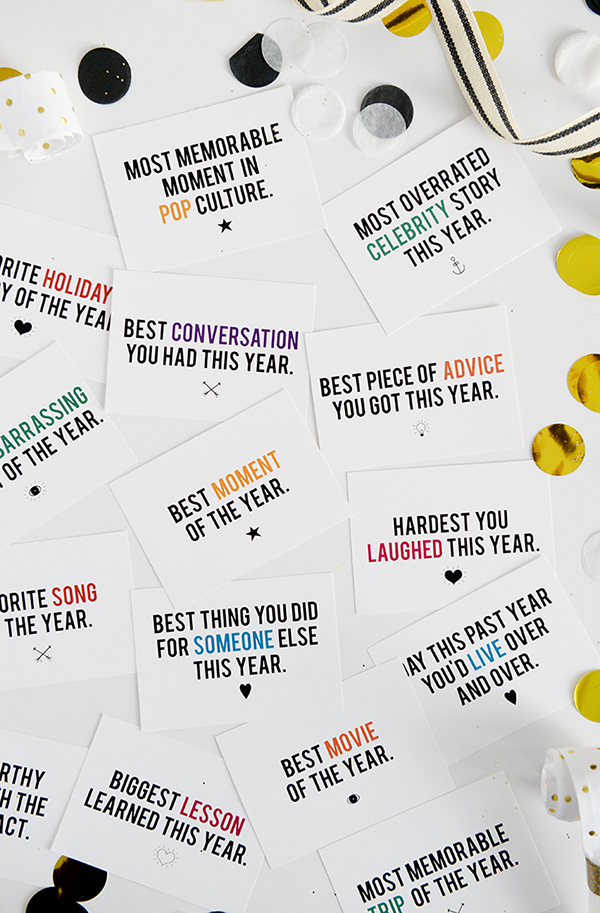 NYE Game Free Printable