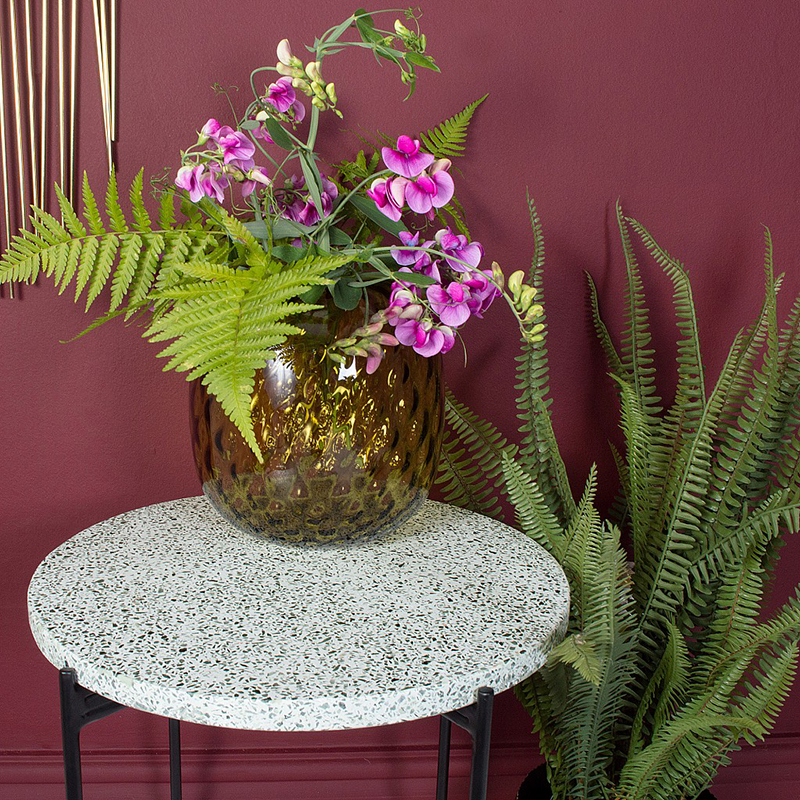 Terrazzo Side Table from Audenza