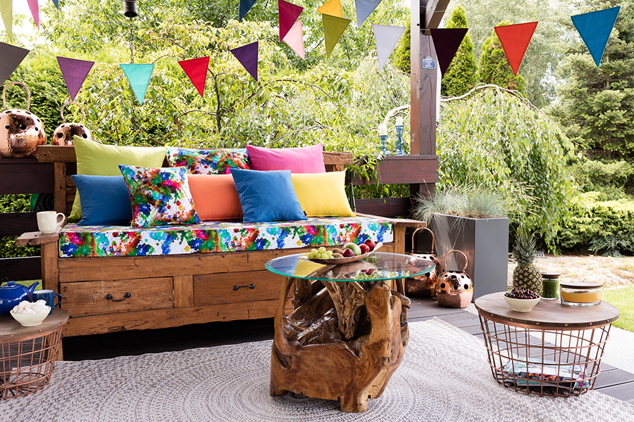 Bold and Colourful Cushion Options from Dekoria