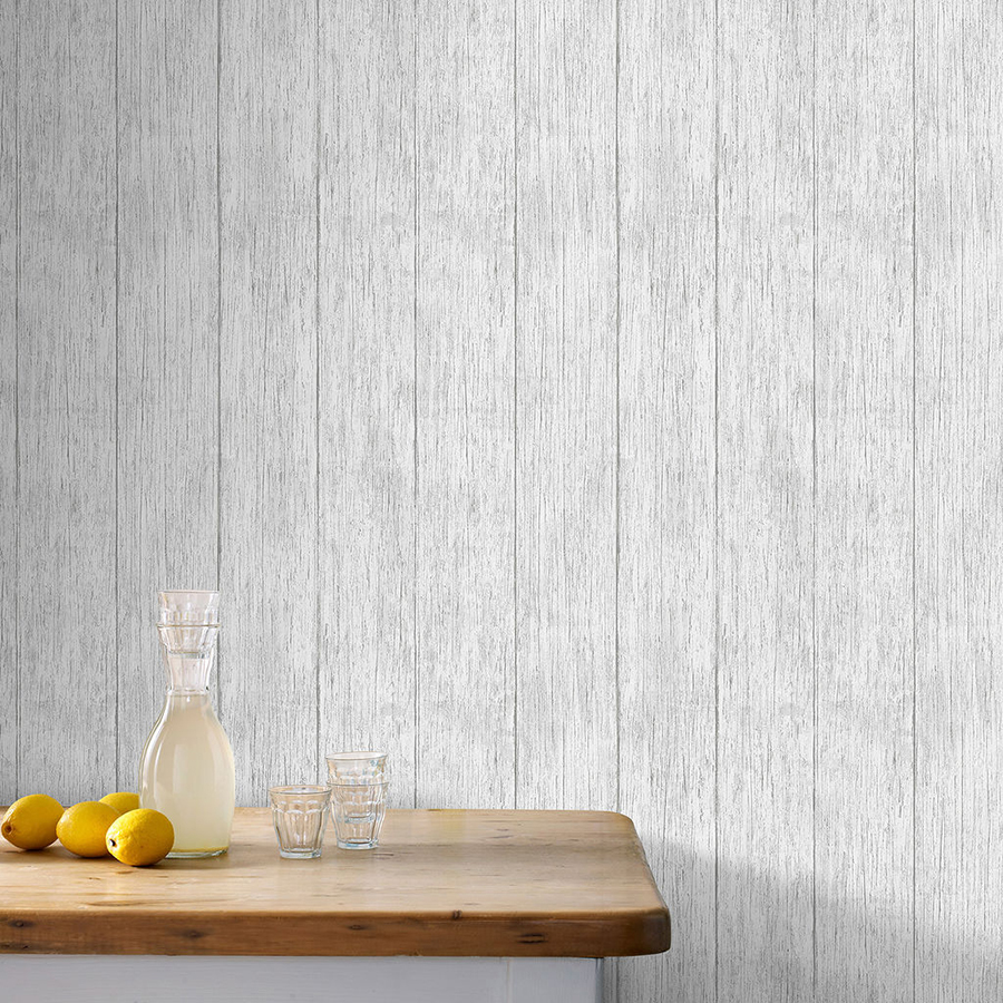 Wood Plank Wallpaper from Graham and Brown
