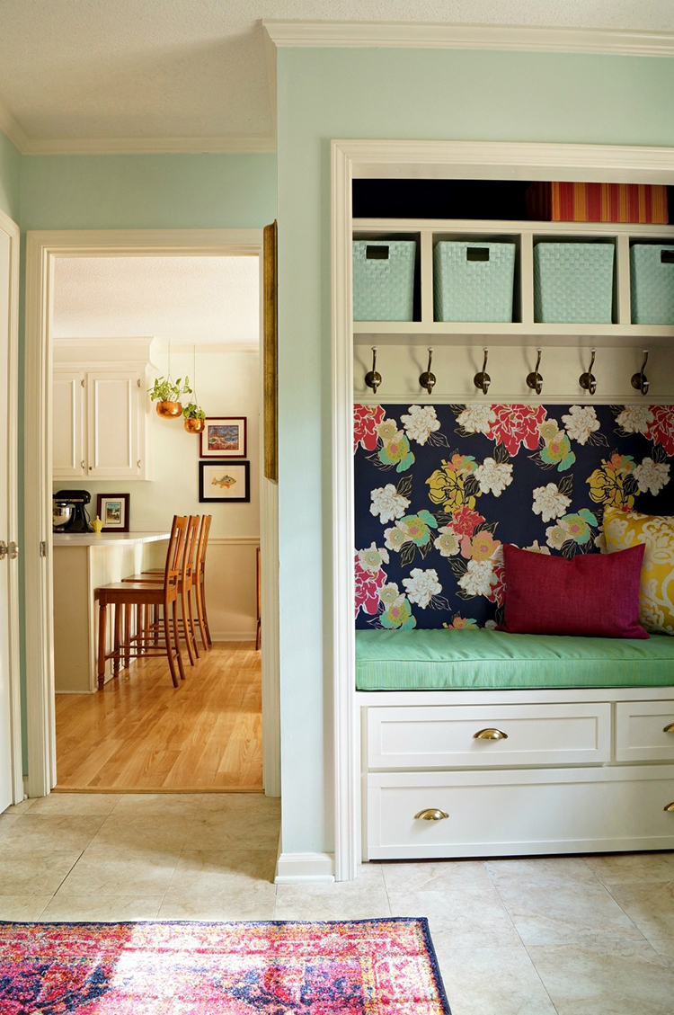 Maggie Overby Studios laundry and mudroom