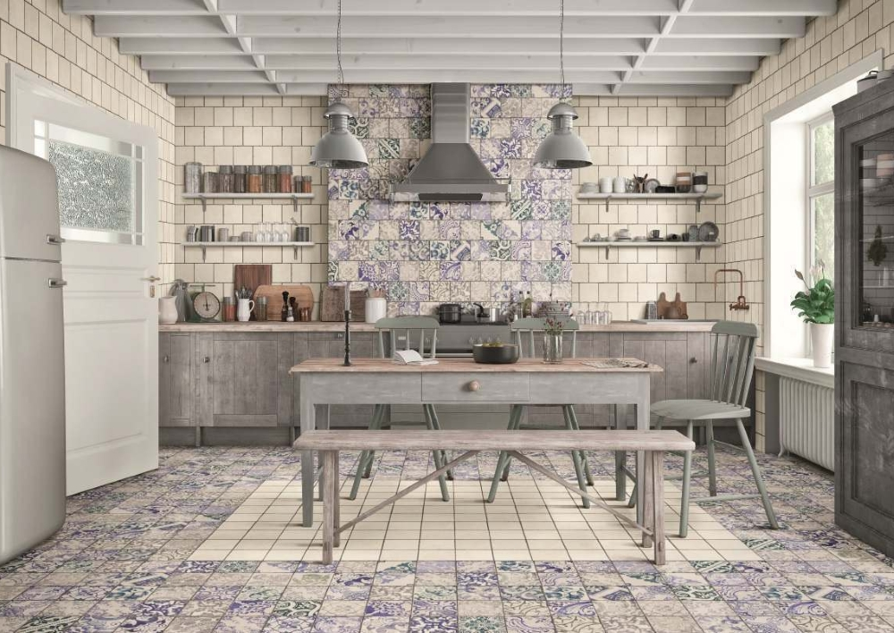 Sintra Patterned Porcelain Wall And Floor Tile