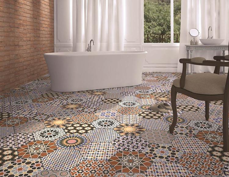 Tile Mountain Andalucia Patterned Wall and Floor Tiles