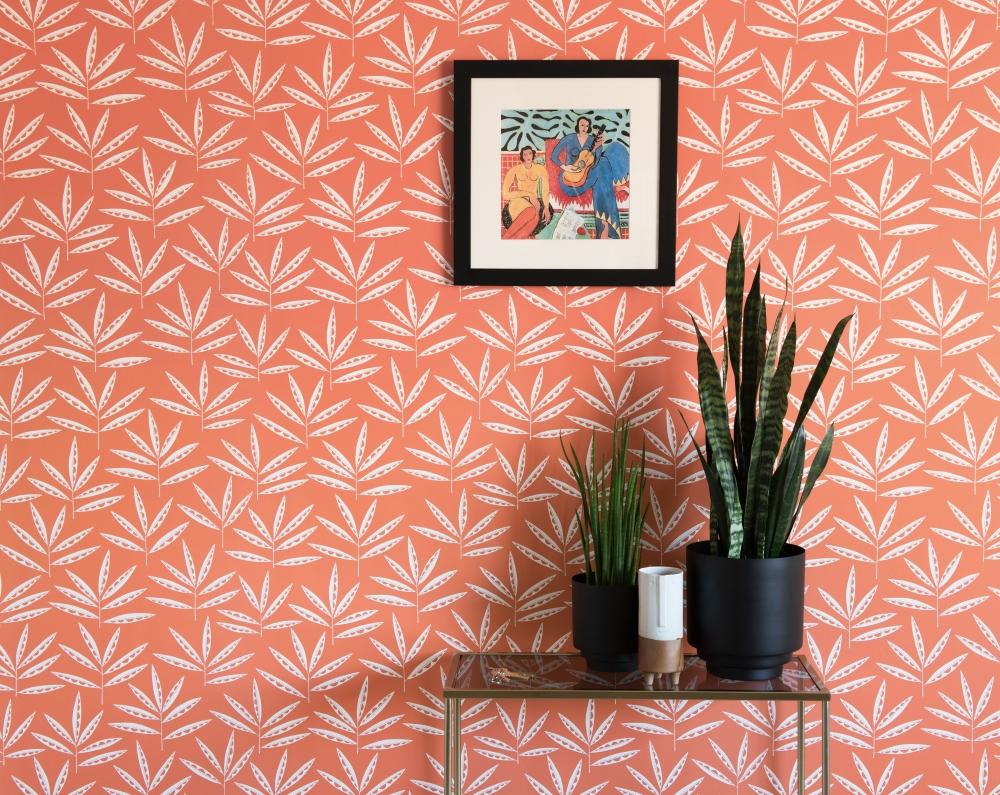 Pea Pods Wallpaper | Miss Print